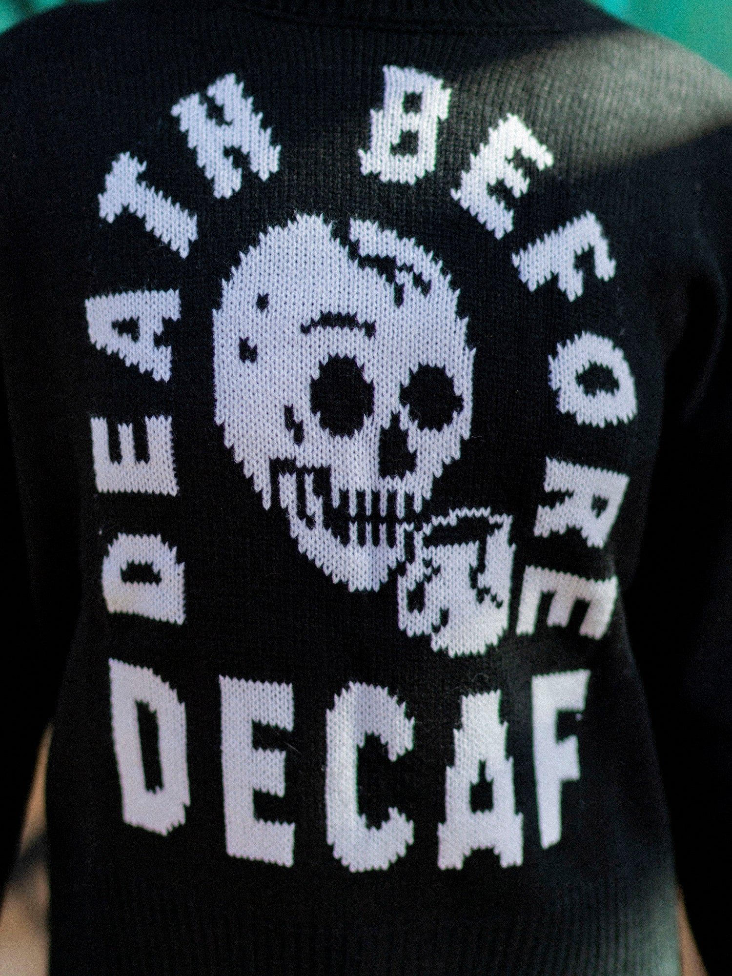 Death Before Decaf Sweater