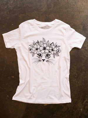 Garden Kitty Kids Tee