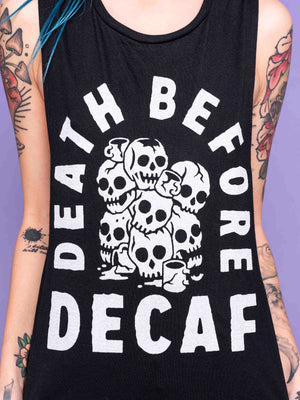 Death B4 Decaf Muscle Tee