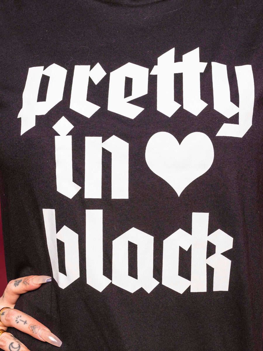 Pretty In Black Adult Tee