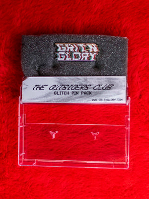 Glitch Grit N Glory Pin
