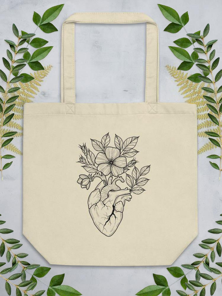 Wild Heart Eco Tote Bag