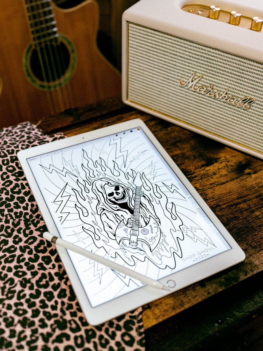 Shop Ghoul Coloring Sheet Set