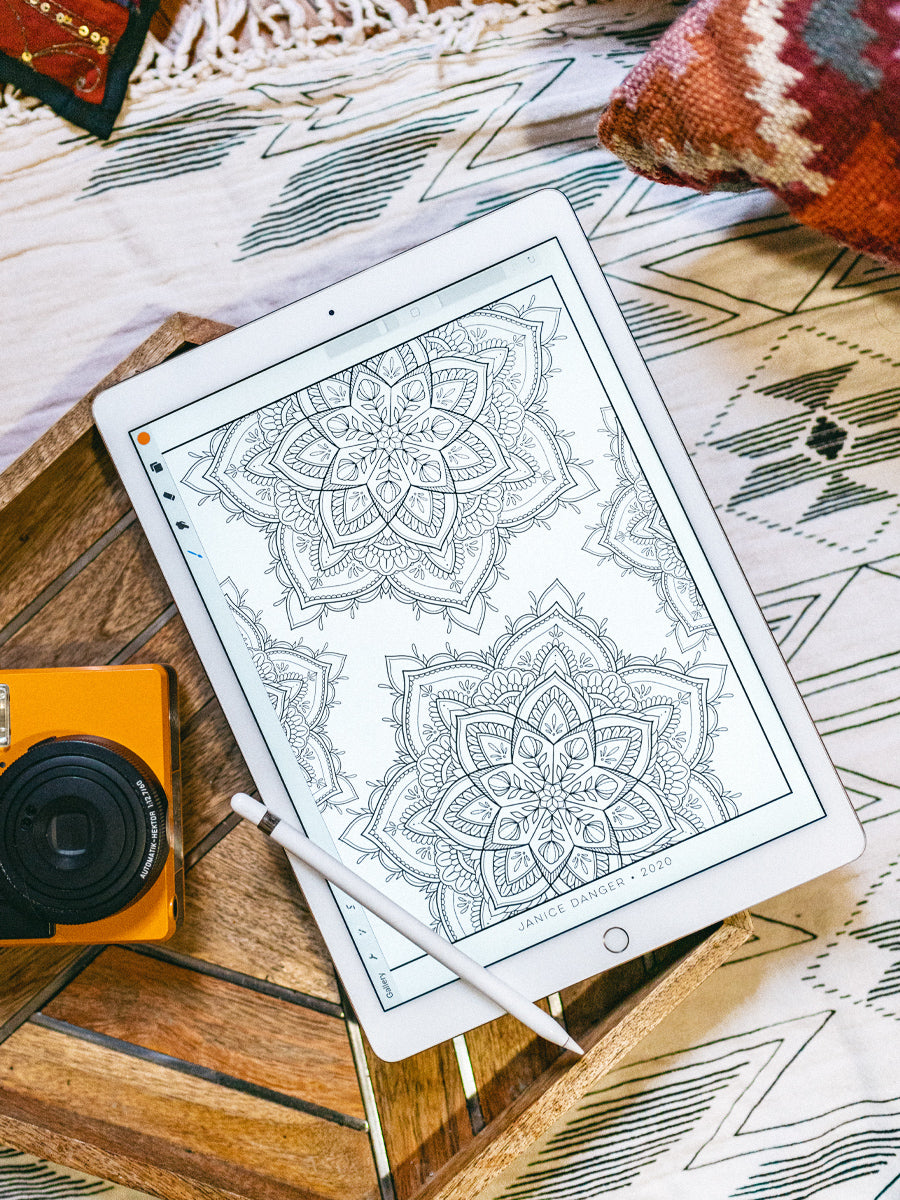 Mandala II Coloring Sheet