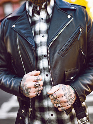 Men's Moto Jacket