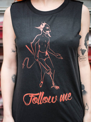 Follow Me Muscle Tee