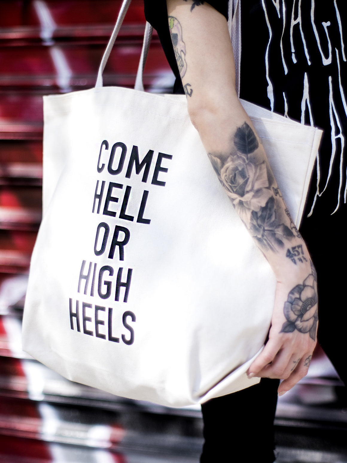 Come Hell or High Heels Tote