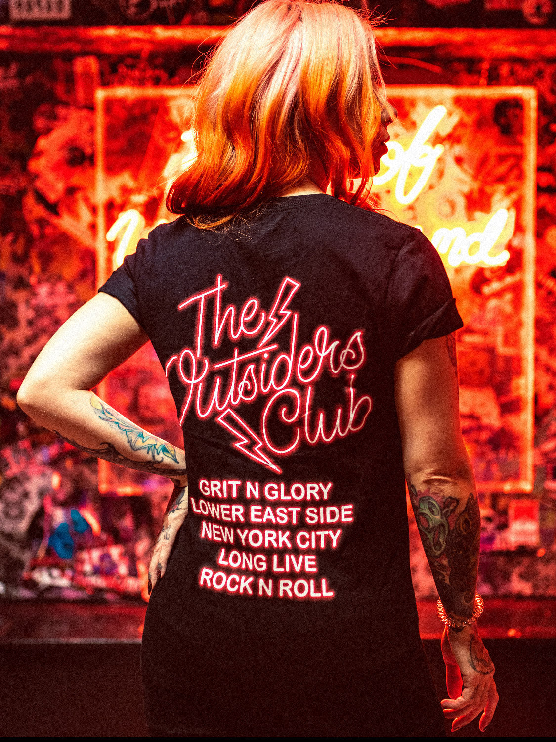 The Outsiders Club Tee
