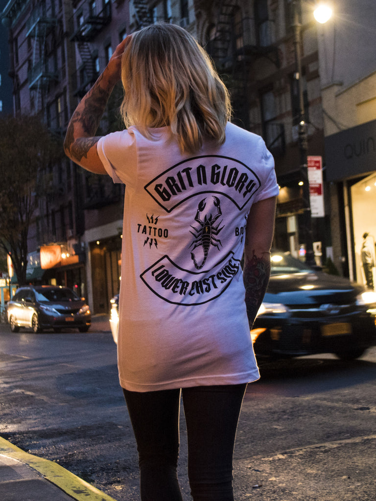 GNG Scorpion Tee White