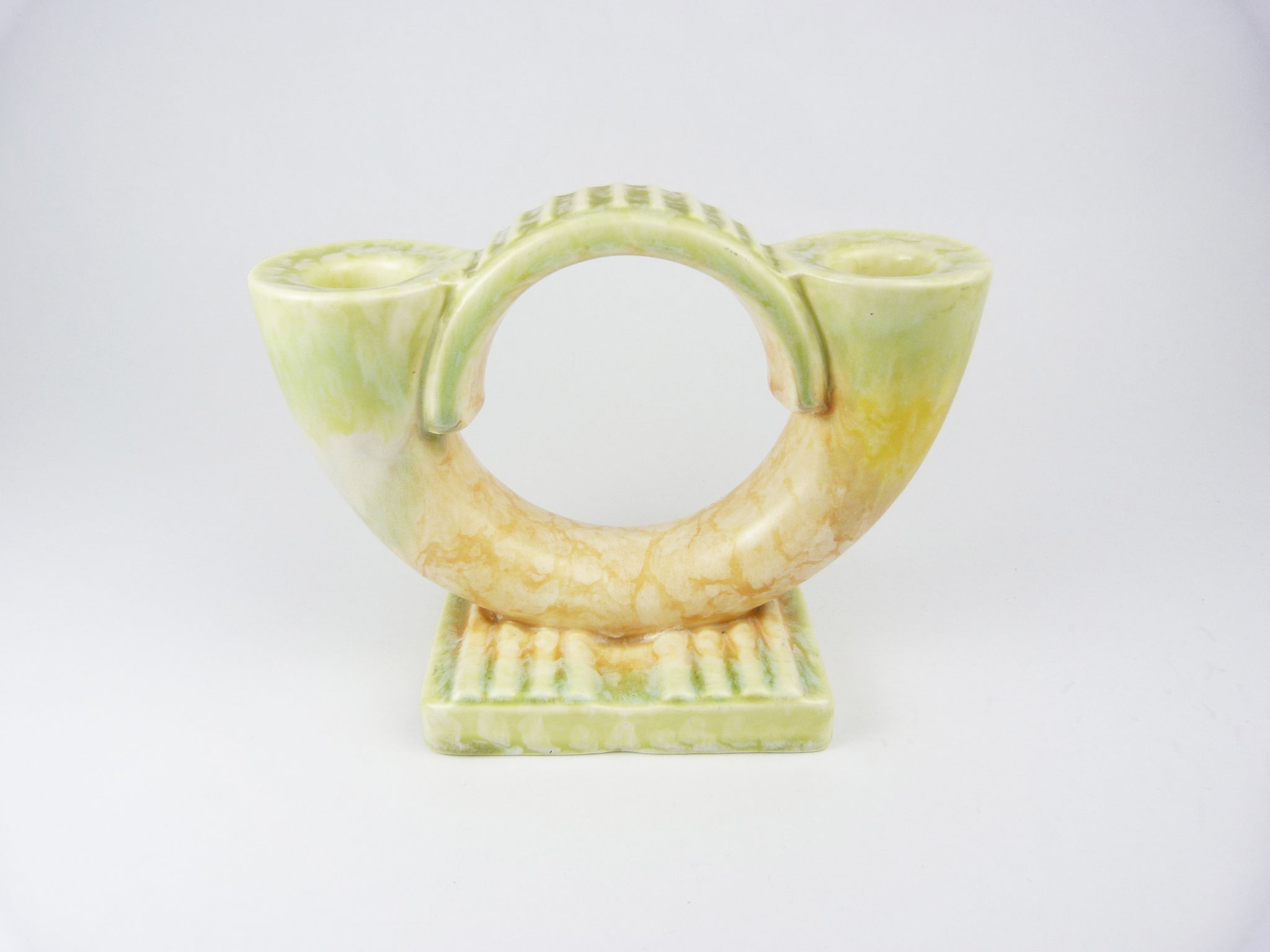 Art Deco Beswick Double Candlestick Holder