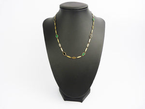 Art Deco Rodi & Wienenberger Pforzheim Rolled Gold Necklace