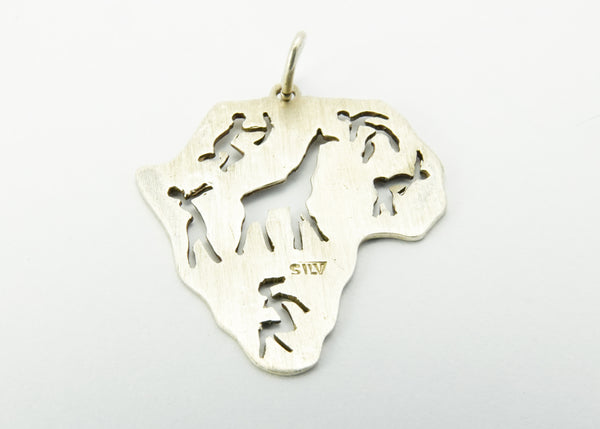Vintage Silver South Africa Pendant
