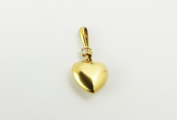 Vintage 9CT Gold Heart Charm
