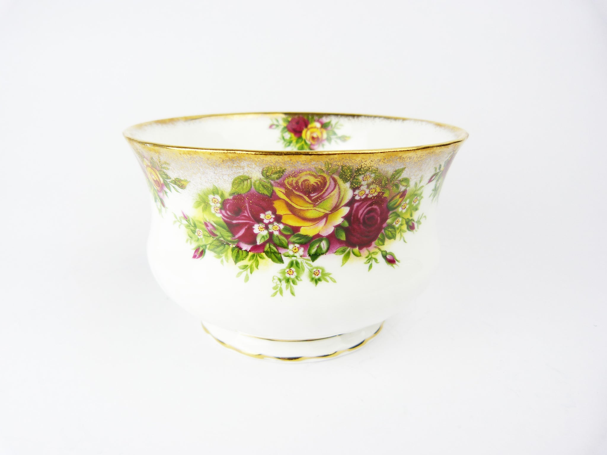 Elizabethan Fine Bone China Roses Sugar Bowl