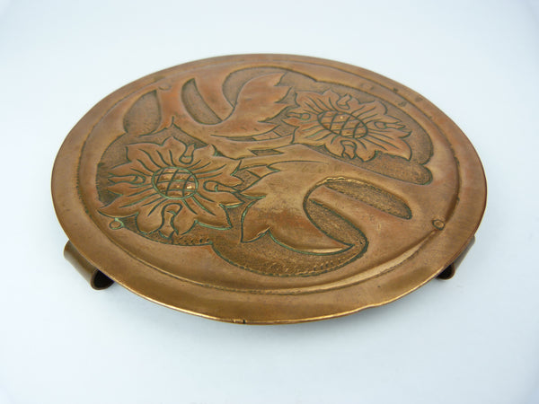 Arts & Crafts Copper Trivet