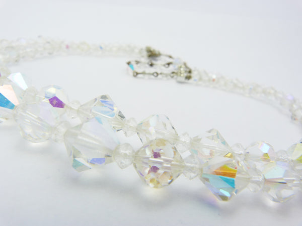 Aurora Borealis Double Strand Necklace