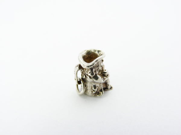Silver Toby Jug Charm