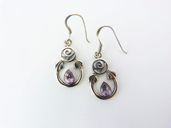 Vintage Charles Rennie Mackintosh Historic Originals Silver Earrings