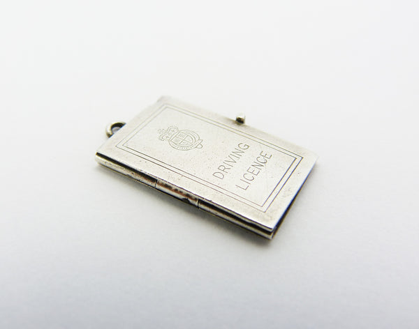 Georg Jensen Silver Driving Licence Charm