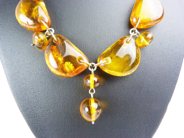 Vintage Baltic Amber Necklace