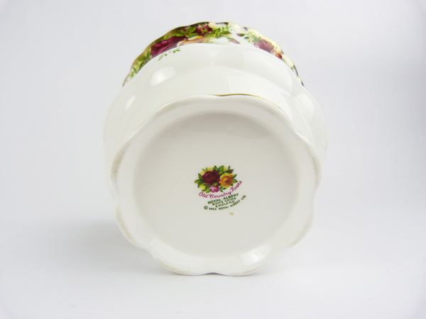 Royal Albert Bone China Old Country Roses Planter/Jardiniere