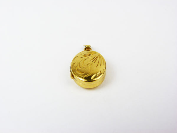 Vintage Rolled Gold Oval Locket