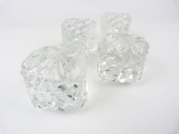 Cut Glass Crystal Knife Rests