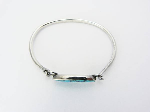 Vintage Silver & Turquoise Bangle