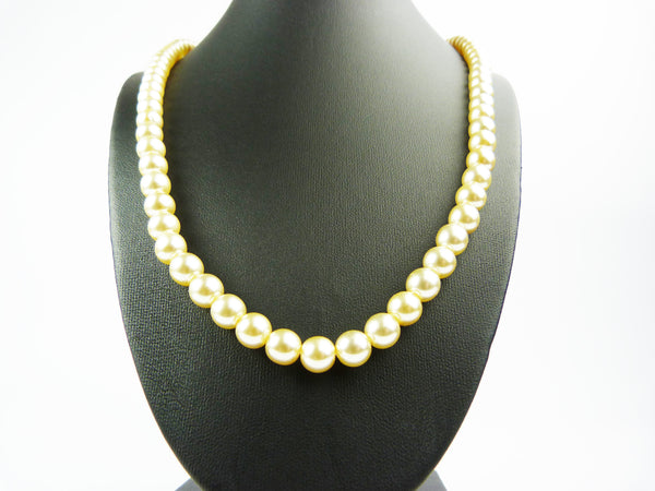 Vintage Faux Pearl Necklace