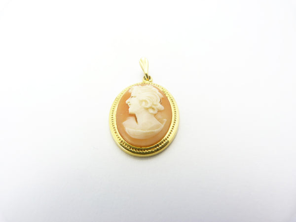 Vintage Gold Filled Cameo Pendant