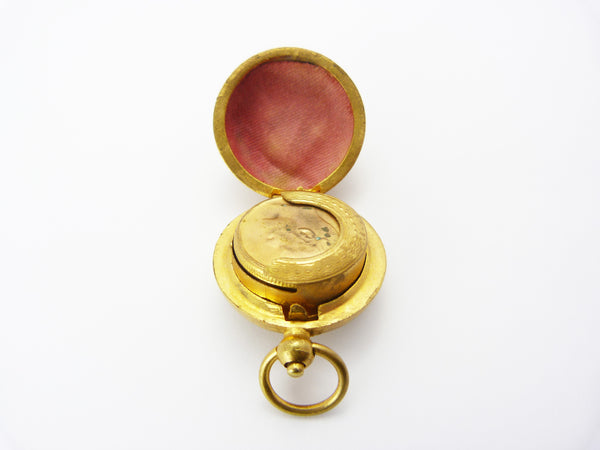 Antique Edwardian Brass Sovereign Coin Holder