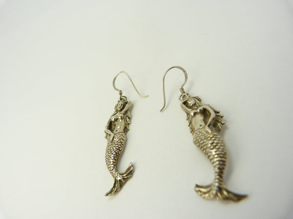 Silver 925 Mermaid Earrings