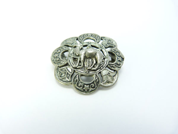 Art Deco Egyptian Revival Camel Brooch