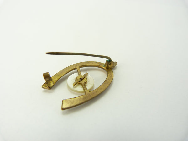 Triskelion Wishbone Pin - Isle of Man Pin