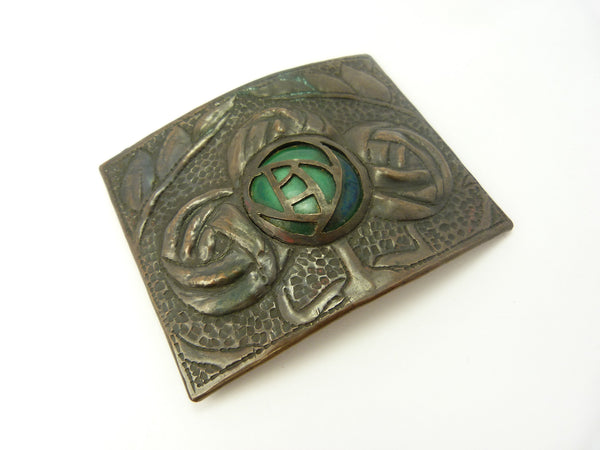 Arts & Crafts Copper Buckle