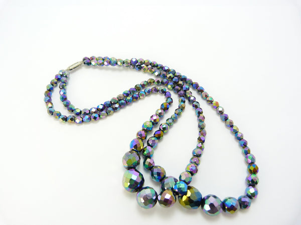 Dark Aurora Borealis Necklace