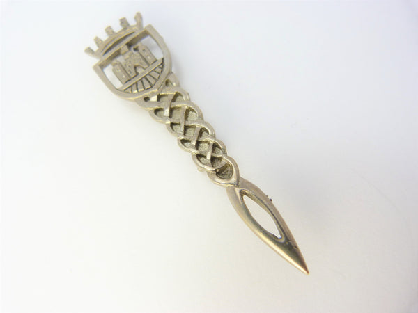 Scottish Thistle Knot Iona Castle Kilt Pin