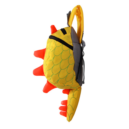 Dinosaur Backpack with Tail - includes Safety Strap for Parents - Dino Fans