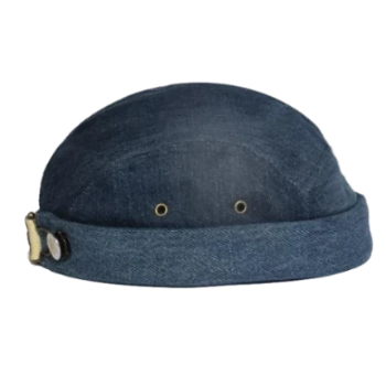 Miki breton bleu brut, jean, modèle limité, 100% coton, Miaraka, réglable, adaptable, unisexe, uniforme, 5 panel, authentique, vintage, éthique, docker miki, worker hat, textile, denim, résistant, miki uni jean, fait à la main, made in France, must have, incontournable, tendance, couvre chef, accessoire iconique, chapellerie unique, fashion, streetwear, casual, miki addict, sneaker addict, collection, haut de gamme, environnement, marins, résistant, surecyclage, bonnet, modèle de créateur déposé