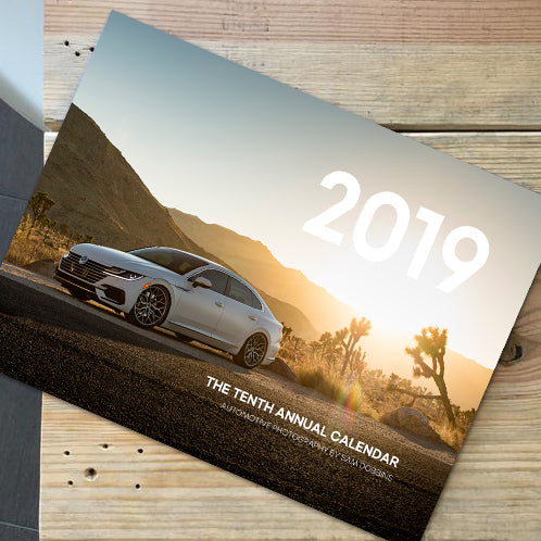 2019 Sam Dobbins Automotive Photography Calendar
