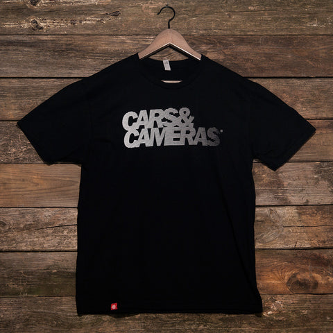 Cars & Cameras Fade T-Shirt (Black)