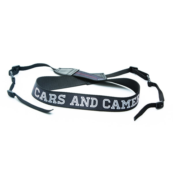 Original Cars and Cameras Camera Strap with Buckles