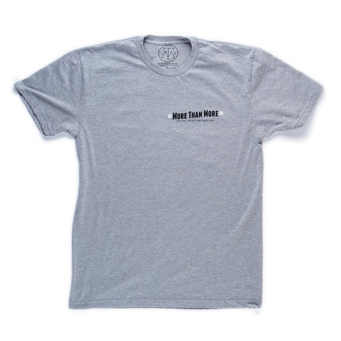Explore T-Shirt (Heather Grey/White, Black)