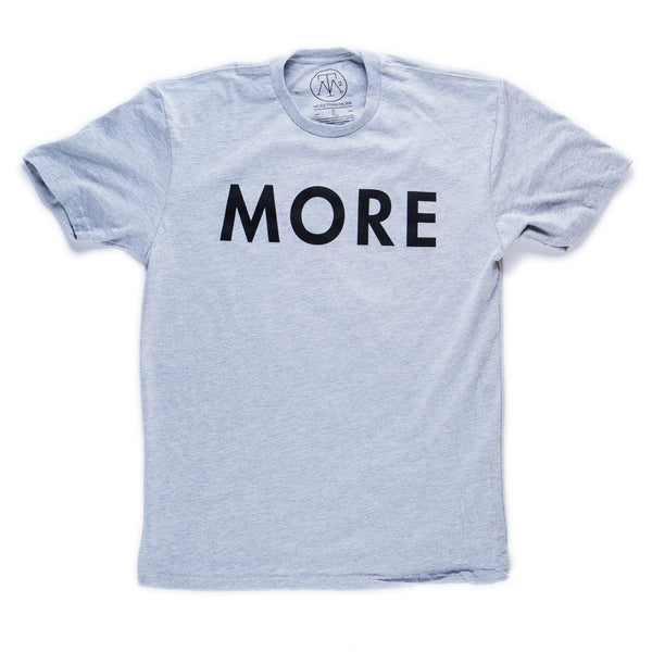 More Army T-Shirt (Heather Grey/Black)