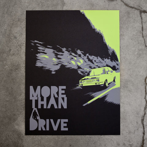More Than A Drive (Screen Print)