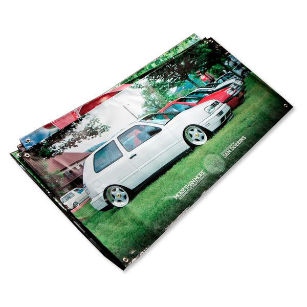 2x4 foot Custom Photo Banner