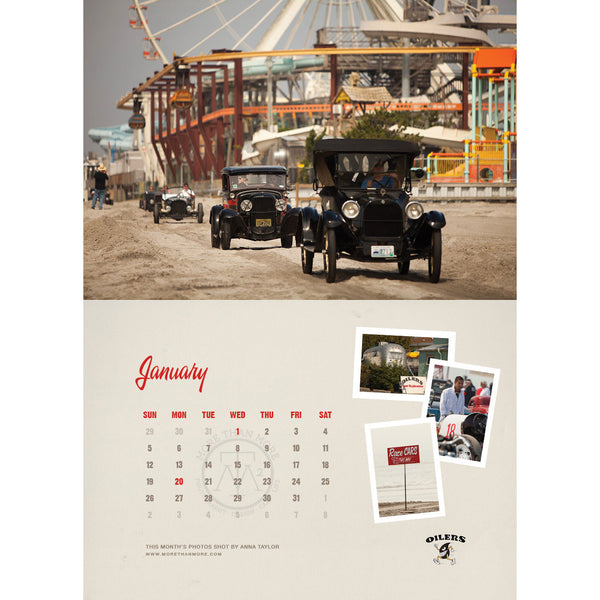 2014 Race of Gentlemen Wall Calendar