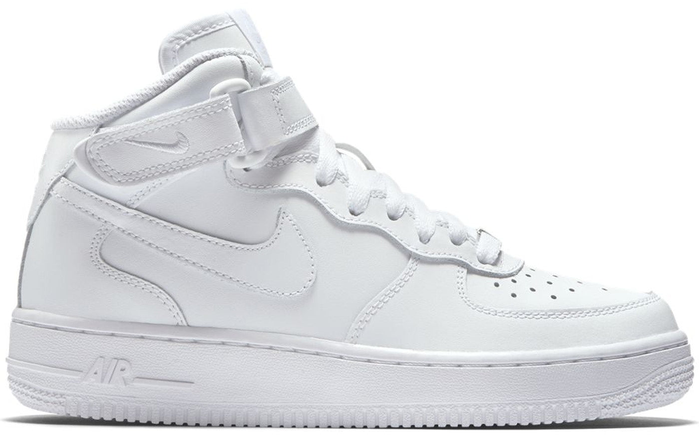 NIKE AIR FORCE 1 MID (GS) TOTAL WHITE 314195 113
