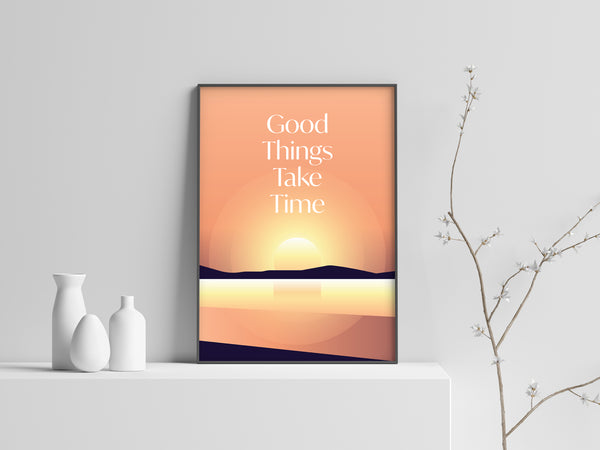 Good Things Take Time - The Scribes