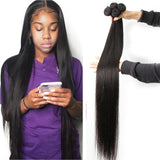 Fashow 30 32 34 36 40 inch Indian Hair Bundles.